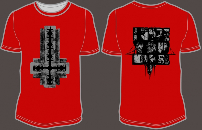Antaeus - Cut Your Flesh And Worship Satan (RED) - T-Shirt