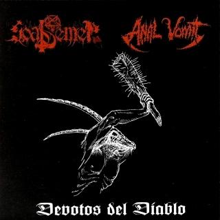 Goat Semen / Anal Vomit - Devotos Del Diablo - Split-DigiCD