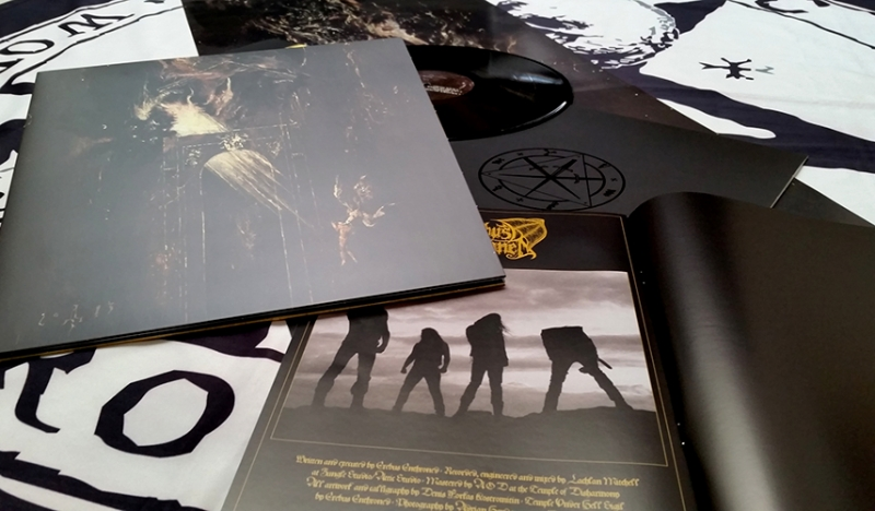 Erebus Enthroned - Temple Under Hell - LP