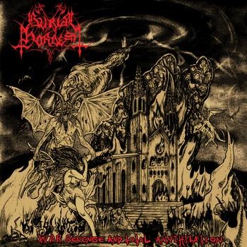 Burial Hordes - War, Revenge and Total Annihilation - LP