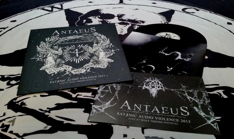 Antaeus - Satanic Audio Violence - Live 2013 - LP