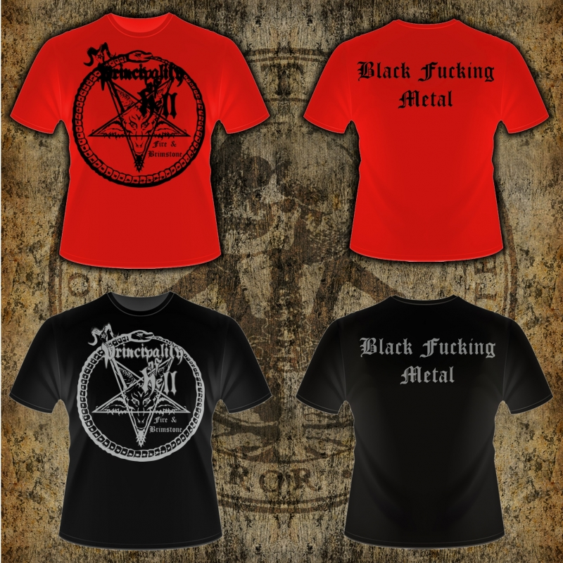 Principality of Hell - Fire & Brimstone - T-Shirt