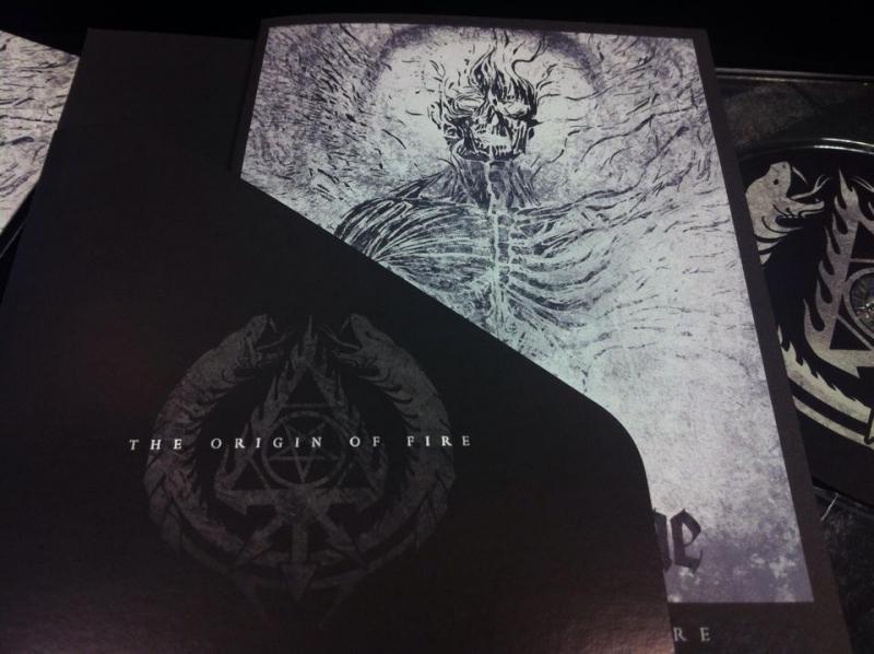 Black Flame - The Origin of Fire - A5 DigiCD