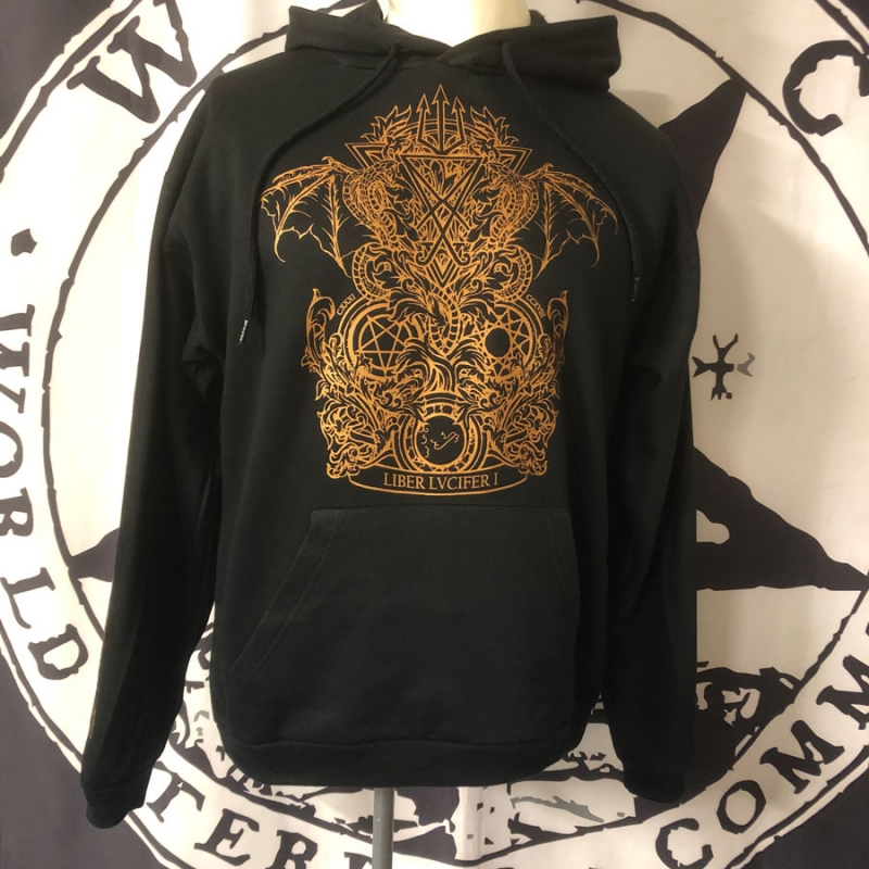 Thy Darkened Shade - Liber Lvcifer I - Hooded Sweatshirt