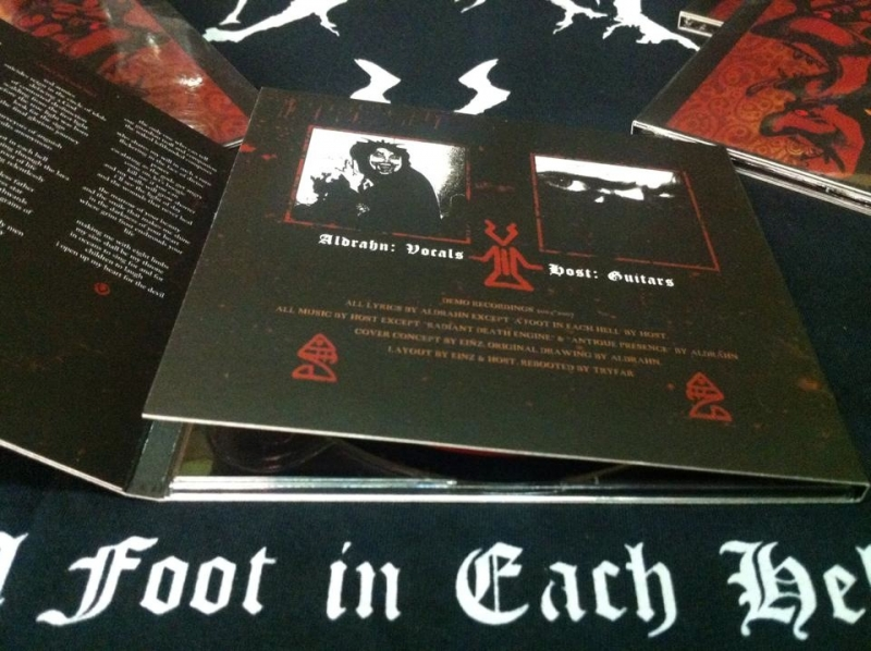 The Deathtrip - A Foot in Each Hell - DigiCD