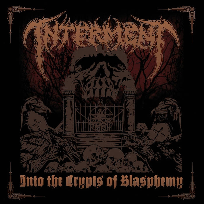 Interment - Into the Crypts of Blasphemy - CD