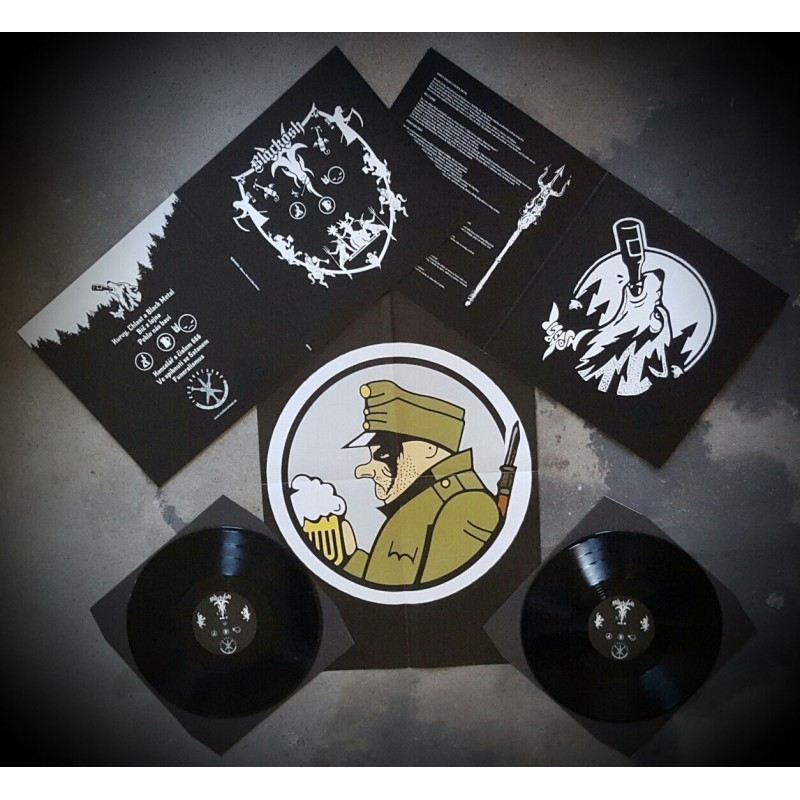 Blackosh - Kurvy, chlast, black metal - LP