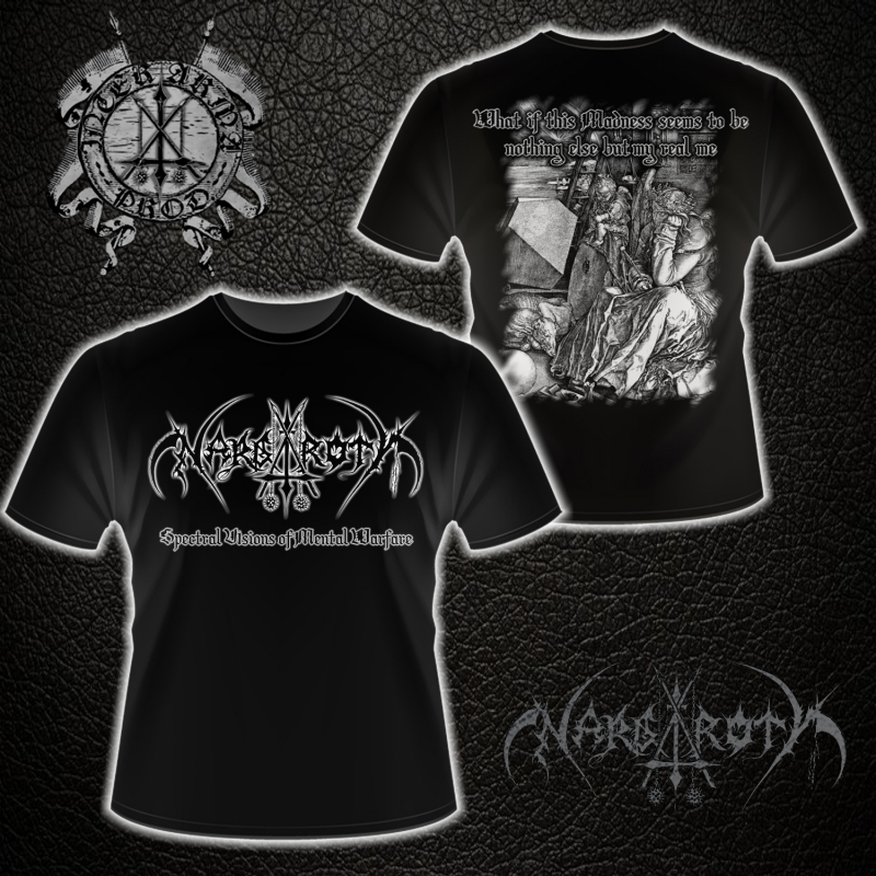 Nargaroth - Spectral Visions of Mental Warfare - T-Shirt