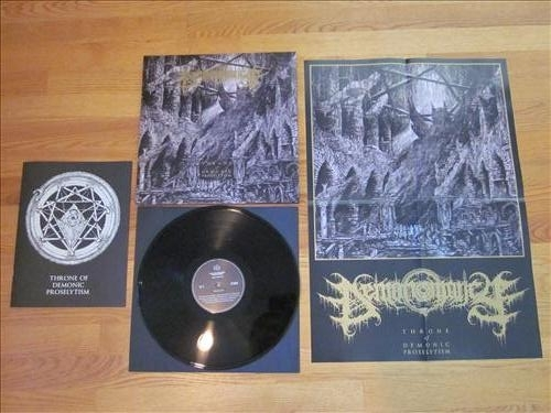 Demonomancy - Throne of Demonic Proselytism - LP