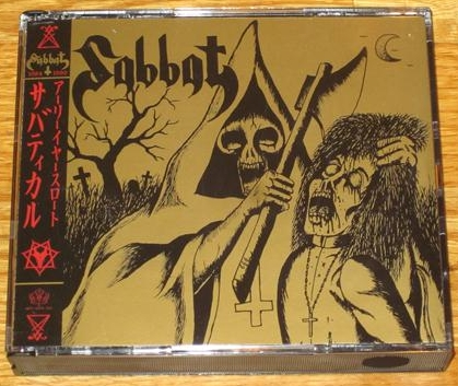 Sabbat - Sabbatical Earyearslaught - 4 x CD Boxset