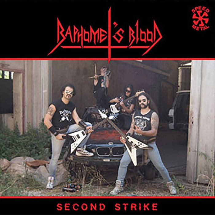 Baphomets Blood - Second Strike - LP