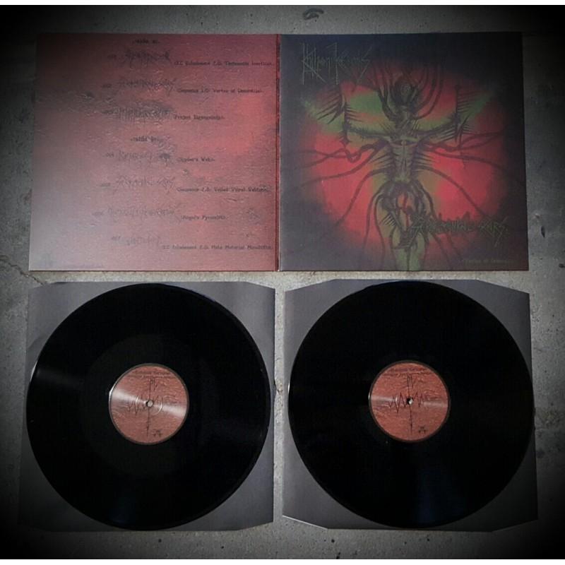 Khthoniik Cerviiks - SeroLogiikal Scars - LP