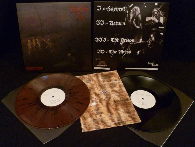 Blood Red Fog - Harvest - LP