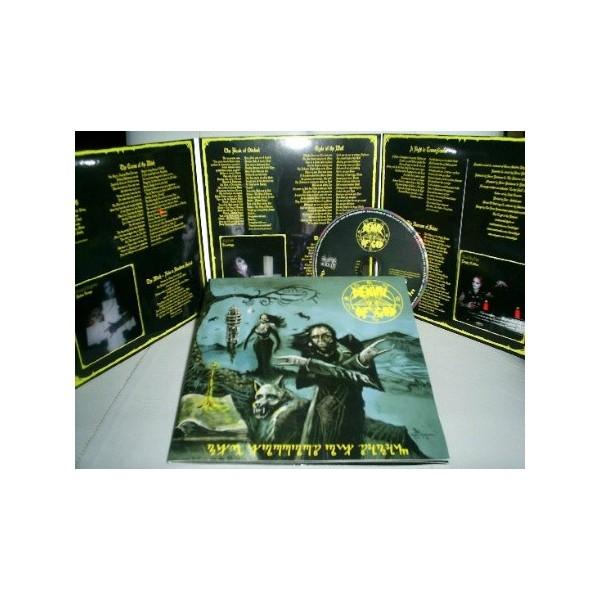 Denial of God - The Horrors of Satan - CD (7 Sized Cover)