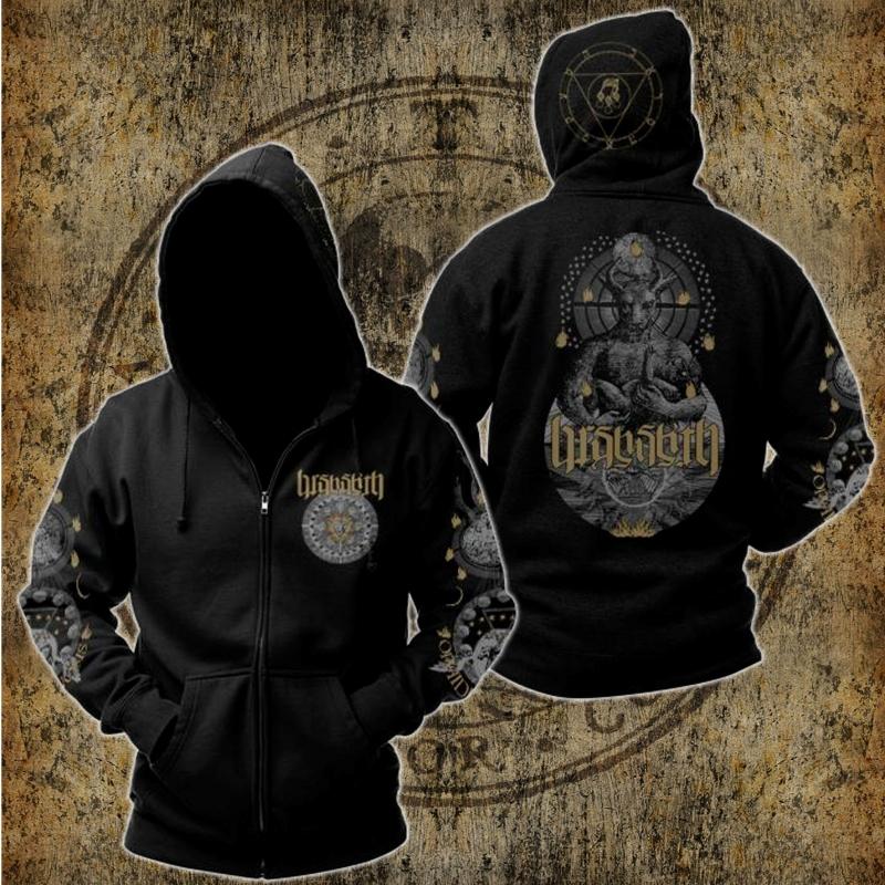 Barshasketh - Ophidian Henosis - Hooded Zipper