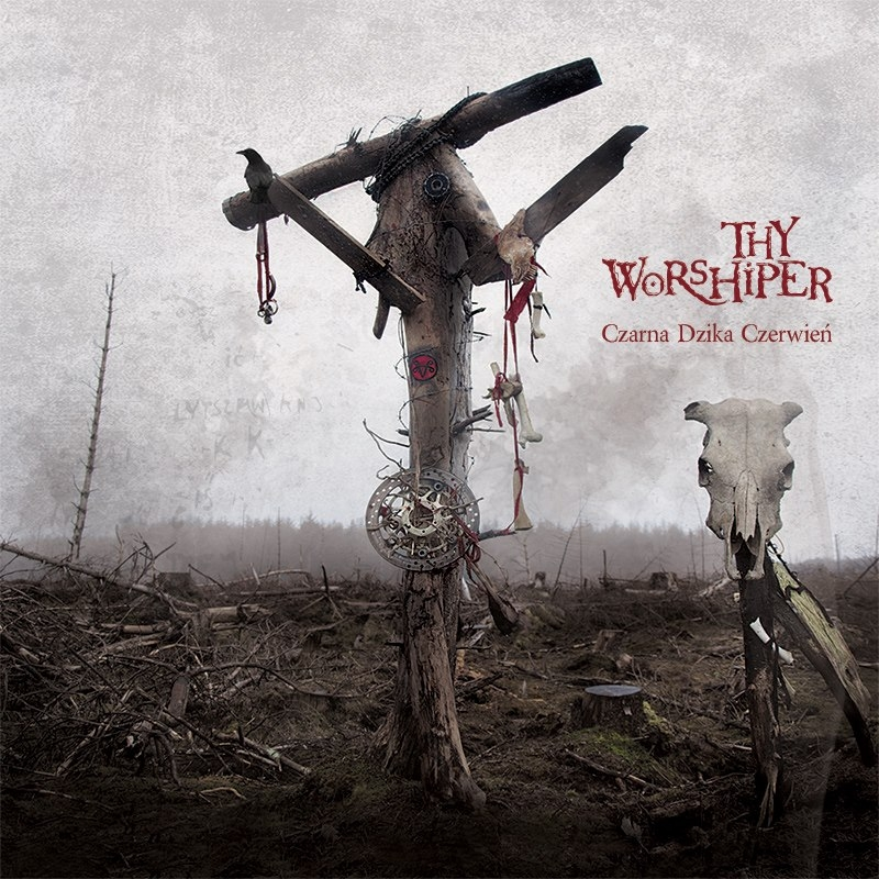 Thy Worshiper - Czarna dzika czerwień - DigiCD