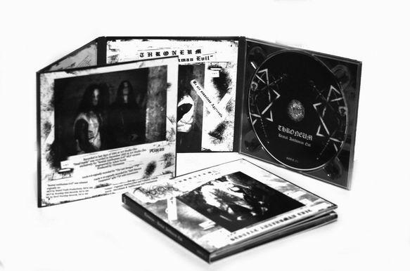 Throneum - Bestial Antihuman Evil - DigiCD