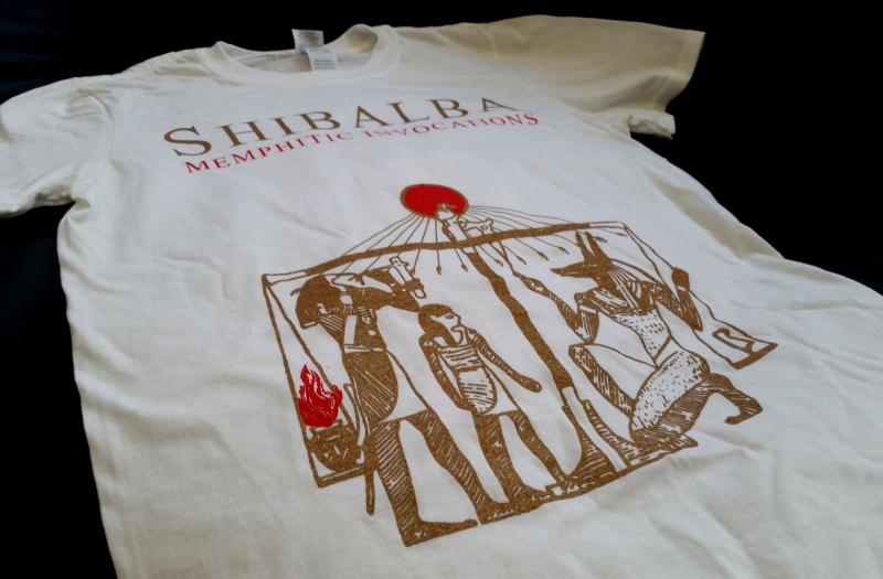 Shibalba - Memphitic Invocations - T-Shirt
