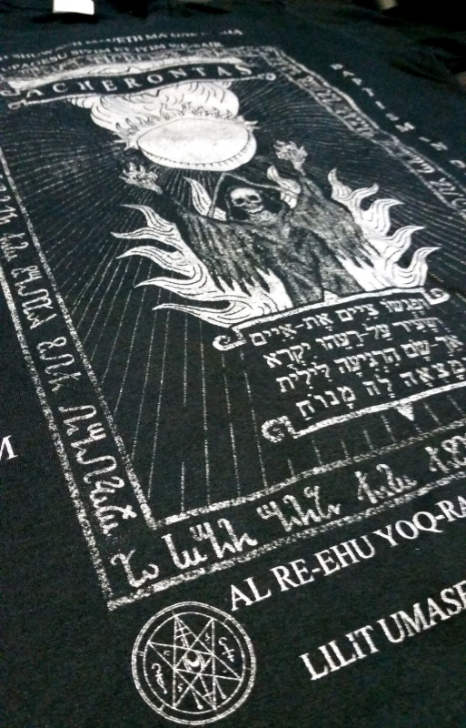 Acherontas - Baptism In Drak Blood - T-Shirt
