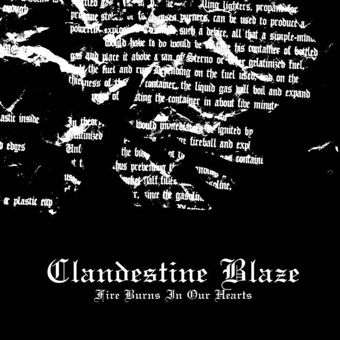 Clandestine Blaze - Fire Burns in Our Hearts - LP