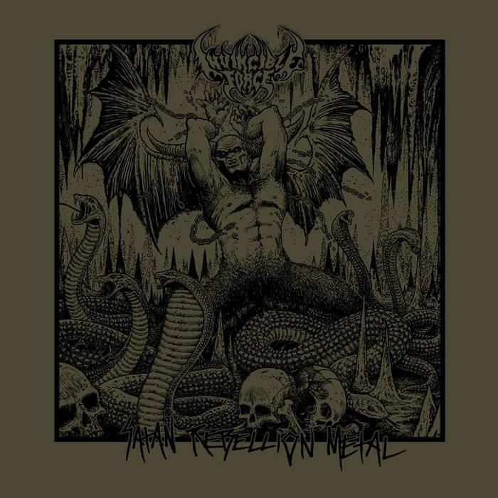 Invincible Force - Satan Rebellion Metal - LP