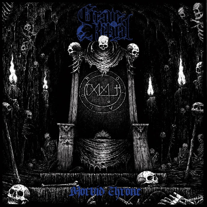 Grave Ritual - Morbid Throne - LP