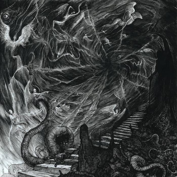 Maveth / Embrace of Thorns - A Plague Through the Heavens - LP