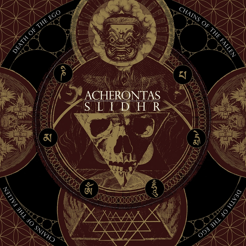 Acherontas/Slidhr-Death Of The Ego/Chains of the Fallen-DigiCD