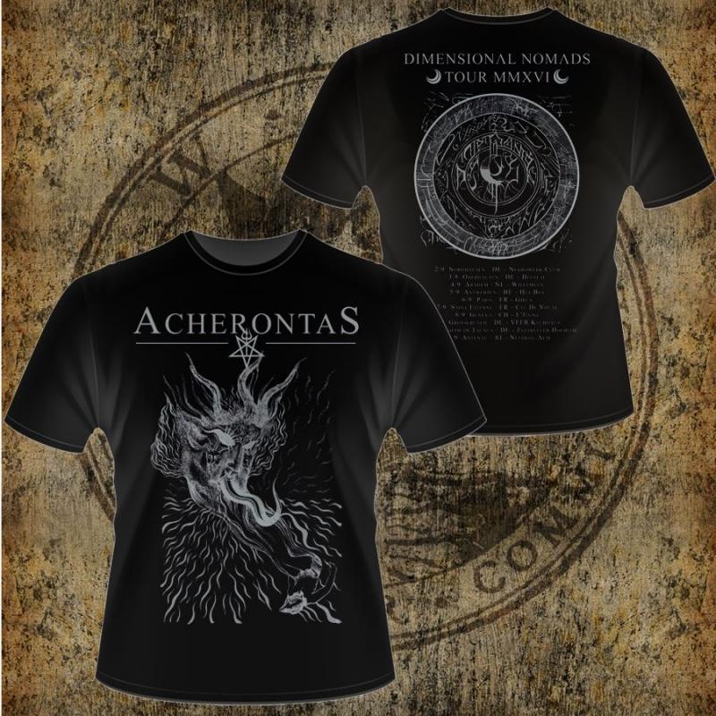 Acherontas - Dimensional Nomads - Shirt (black)