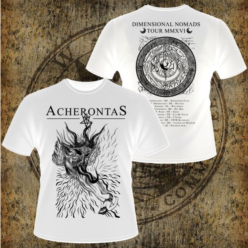 Acherontas - Dimensional Nomads - Shirt (white)