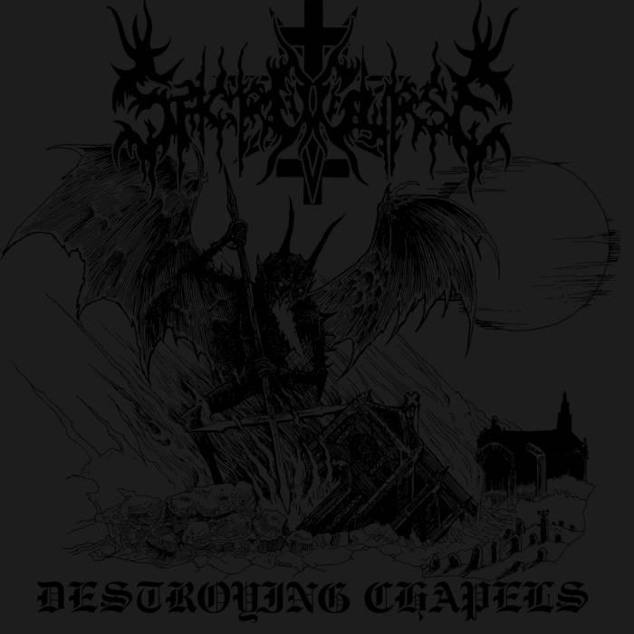 Sacrocurse - Destroying Chapels - EP