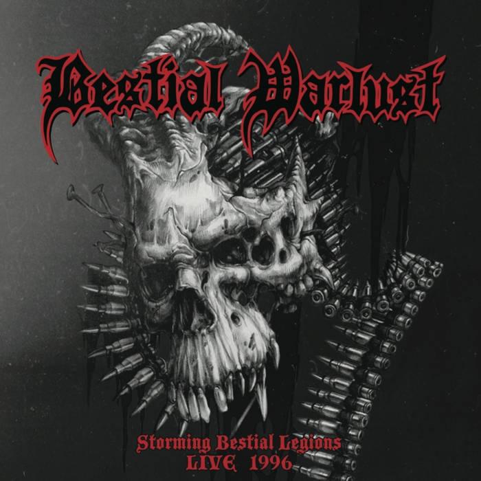 Bestial Warlust - Storming Bestial Legions - Live 96 - CD