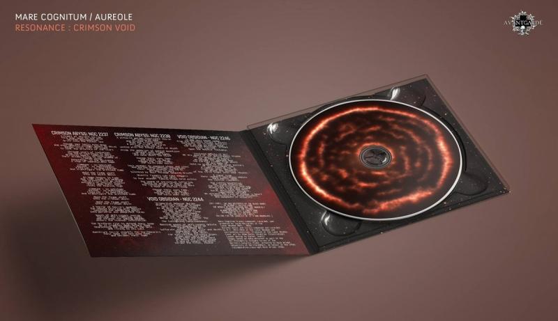 Mare Cognitum / Aureole - Resonance: Crimson Void - Split-DigiCD