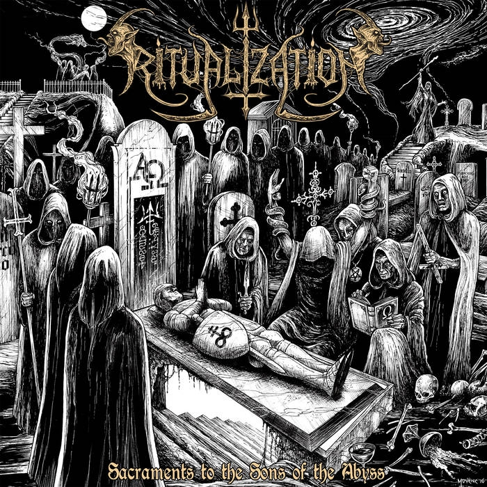 Ritualization - Sacraments to the Sons of the Abyss - LP