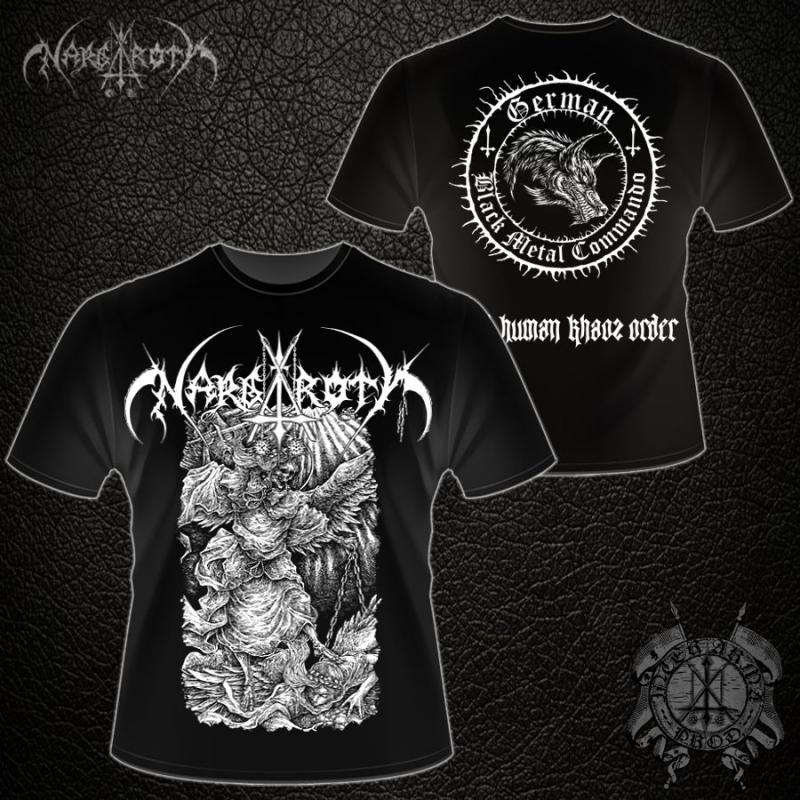 Nargaroth - Anti Human Khaos Order - T-Shirt