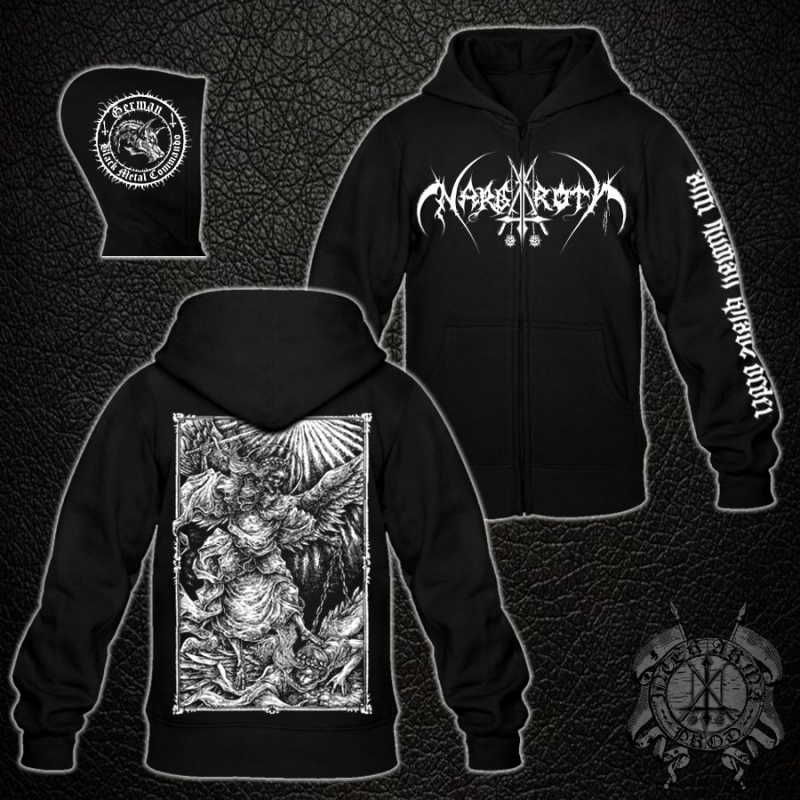 Nargaroth - Anti Human Khaos Order - Hooded Zipper