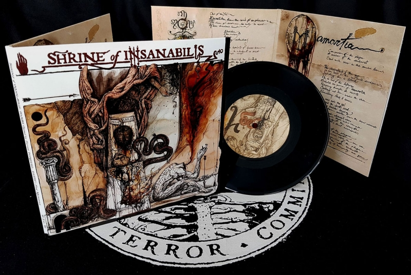 Shrine of Insanabilis - Tombs opened... - Gatefold EP