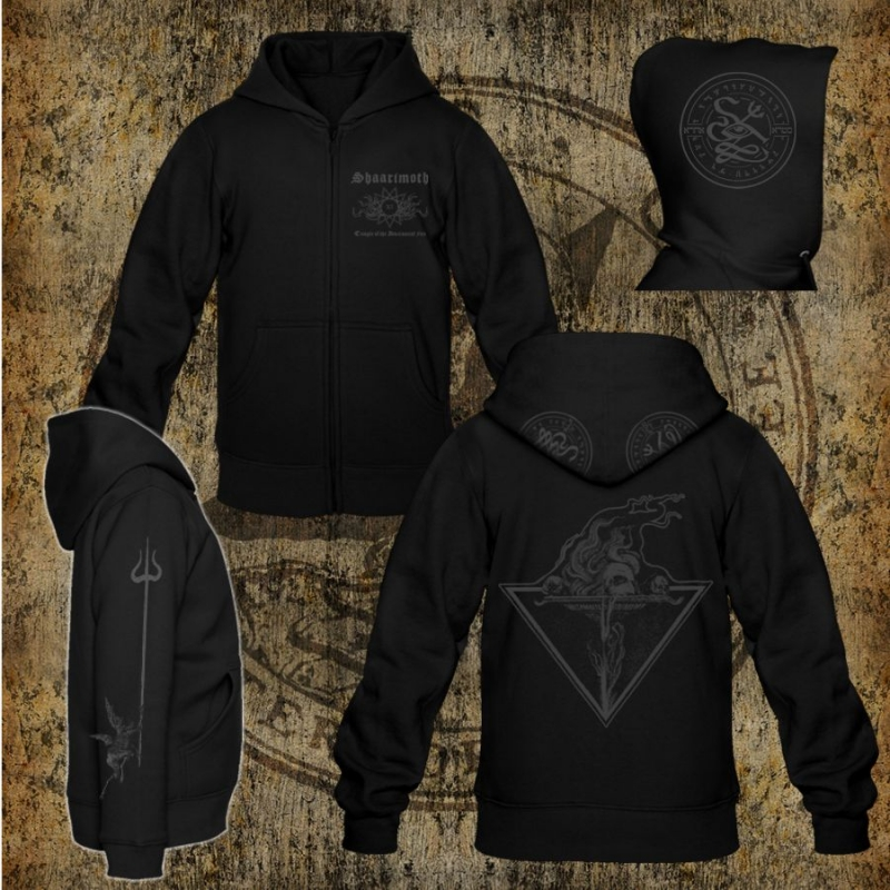 Shaarimoth - Temple of the Adversarial Fire - Hooded Zipper