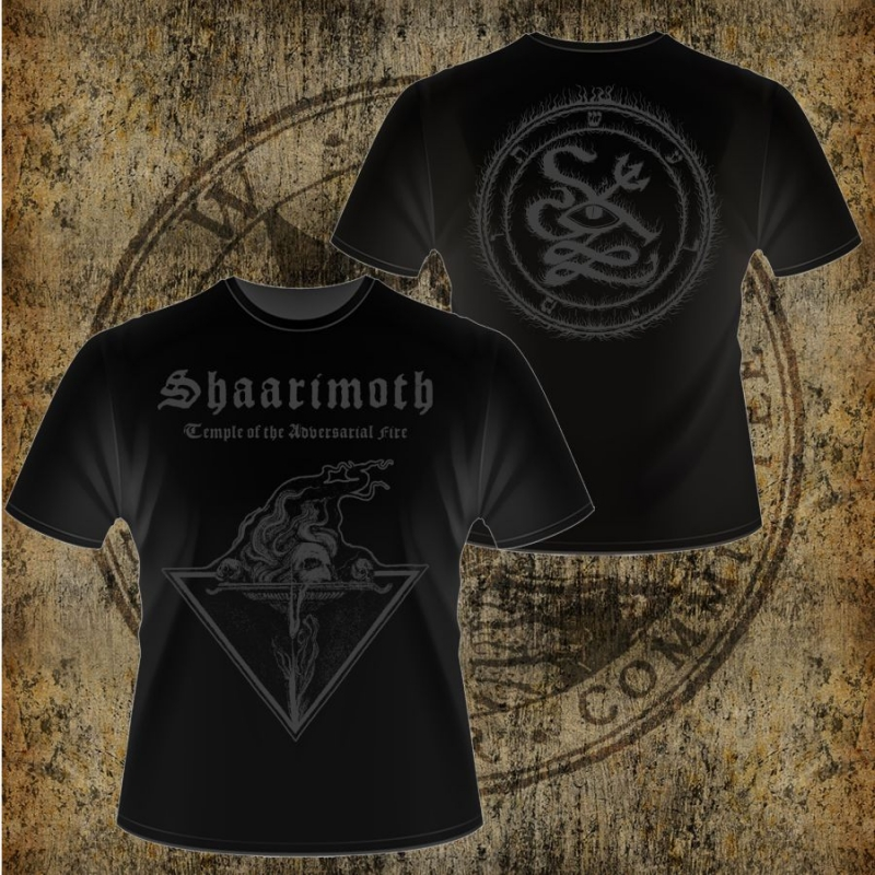 Shaarimoth - Temple of the Adversarial Fire - T-Shirt