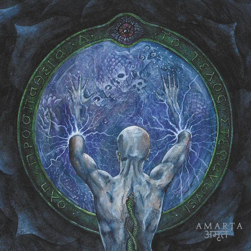 Acherontas - Amarta - Digipak CD