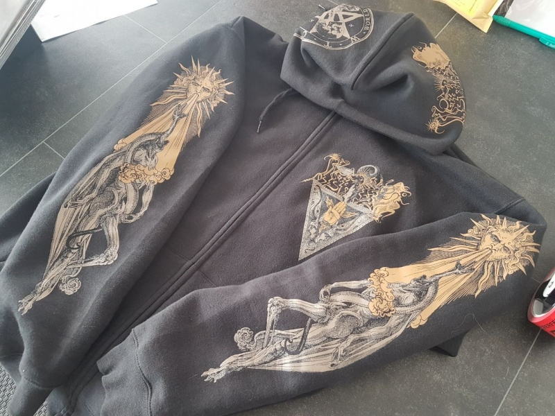 Inferno - Gnosis Kardias - Hooded Zipper