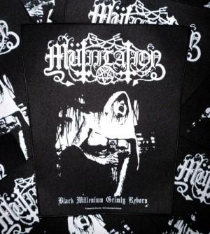 Mütiilation - Black Millenium - Backpatch