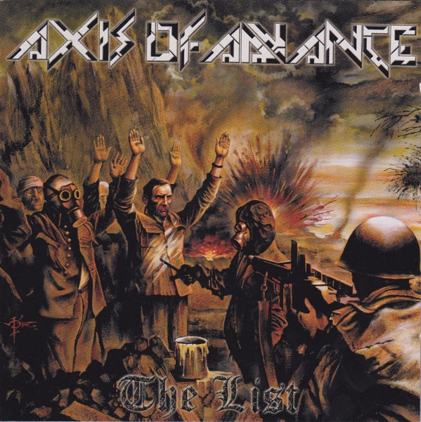 Axis of Advance - The List - CD