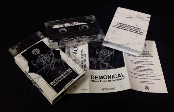 Demonical - Black Flesh Redemption - MC