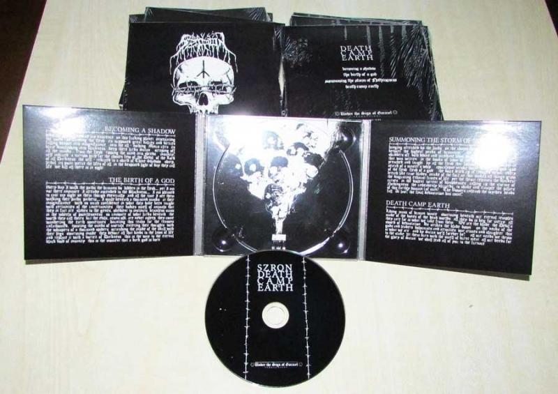 Szron - Death Camp Earth - Digipak CD