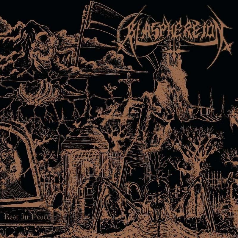 Blasphereion - Rest in Peace - CD