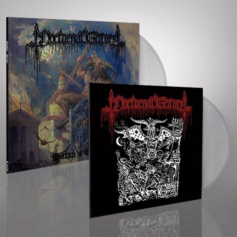 Nocturnal Graves - Satans Cross - LP + 10
