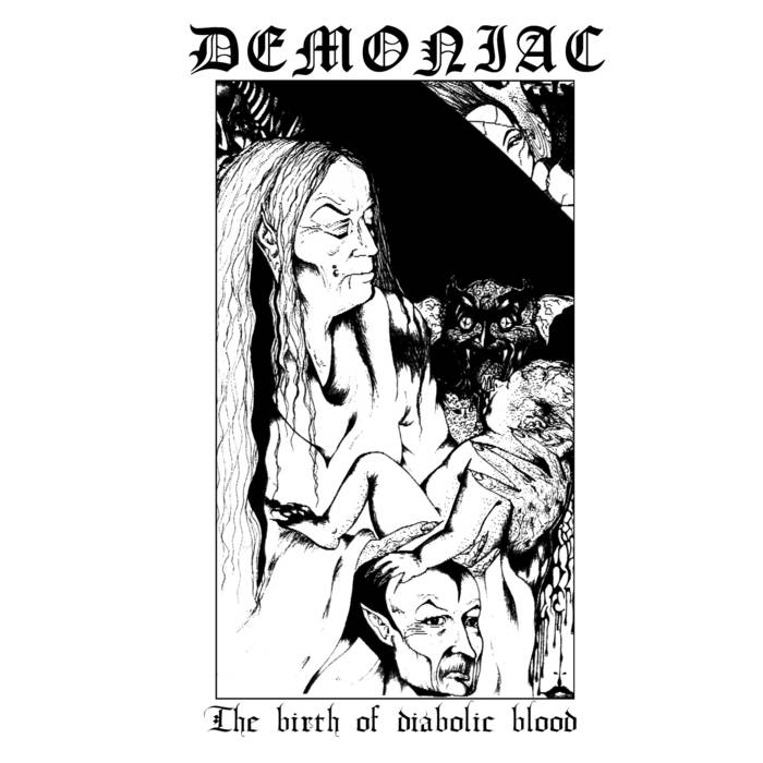Demoniac - The Birth of Diabolic Blood - CD