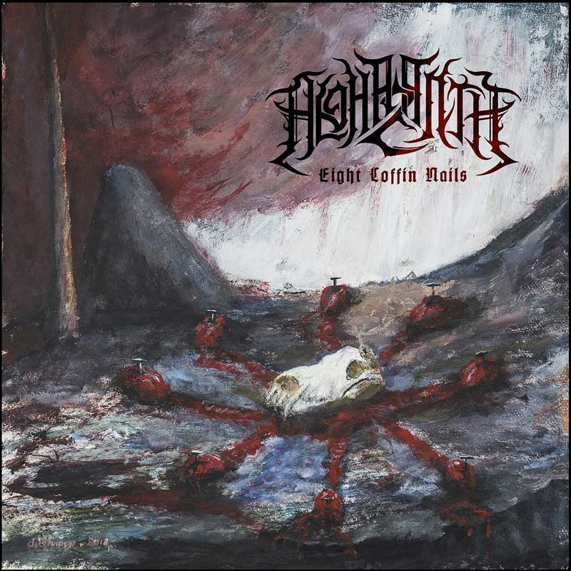 Alghazanth - Eight Coffin Nails - Digipak CD