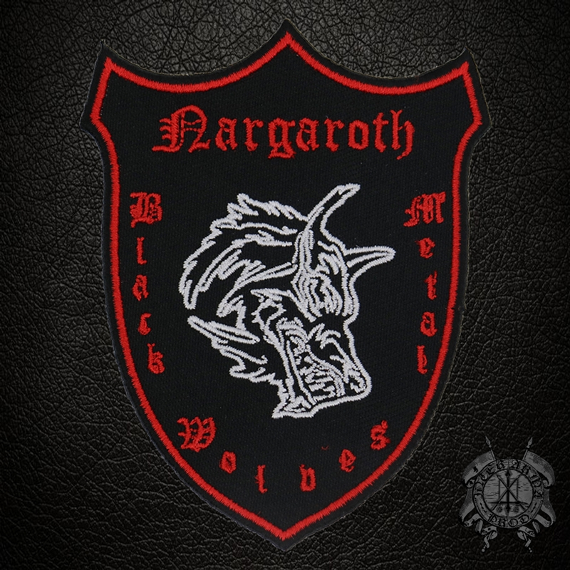 Nargaroth - Black Metal Wolves - Wappen Patch